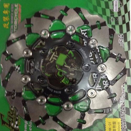 freno de disco. disco flotante bws, gy6