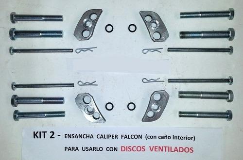 freno disco ventilado jeep est torino (kit ensanche caliper)