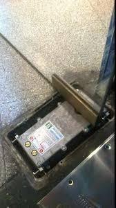 frenos de puerta blindex , cambio, colocacion
