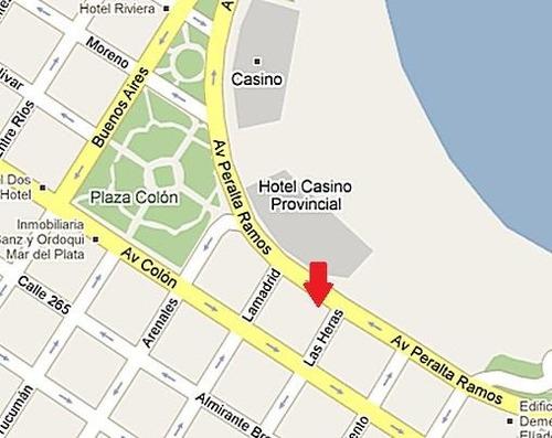 frente a  playa bristol y hotel provincial
