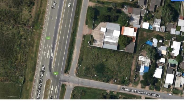 frente a ruta 101 a mts de aeropuerto y empalme 102