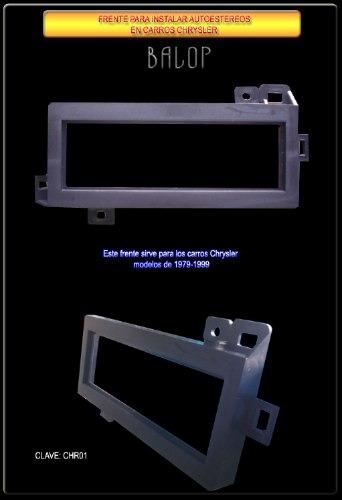 frente adaptador de esteeos para chrysler 1979-99