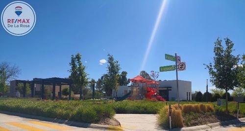 frente al area verde!! ...excelente terreno en venta en fraccionamiento veranda