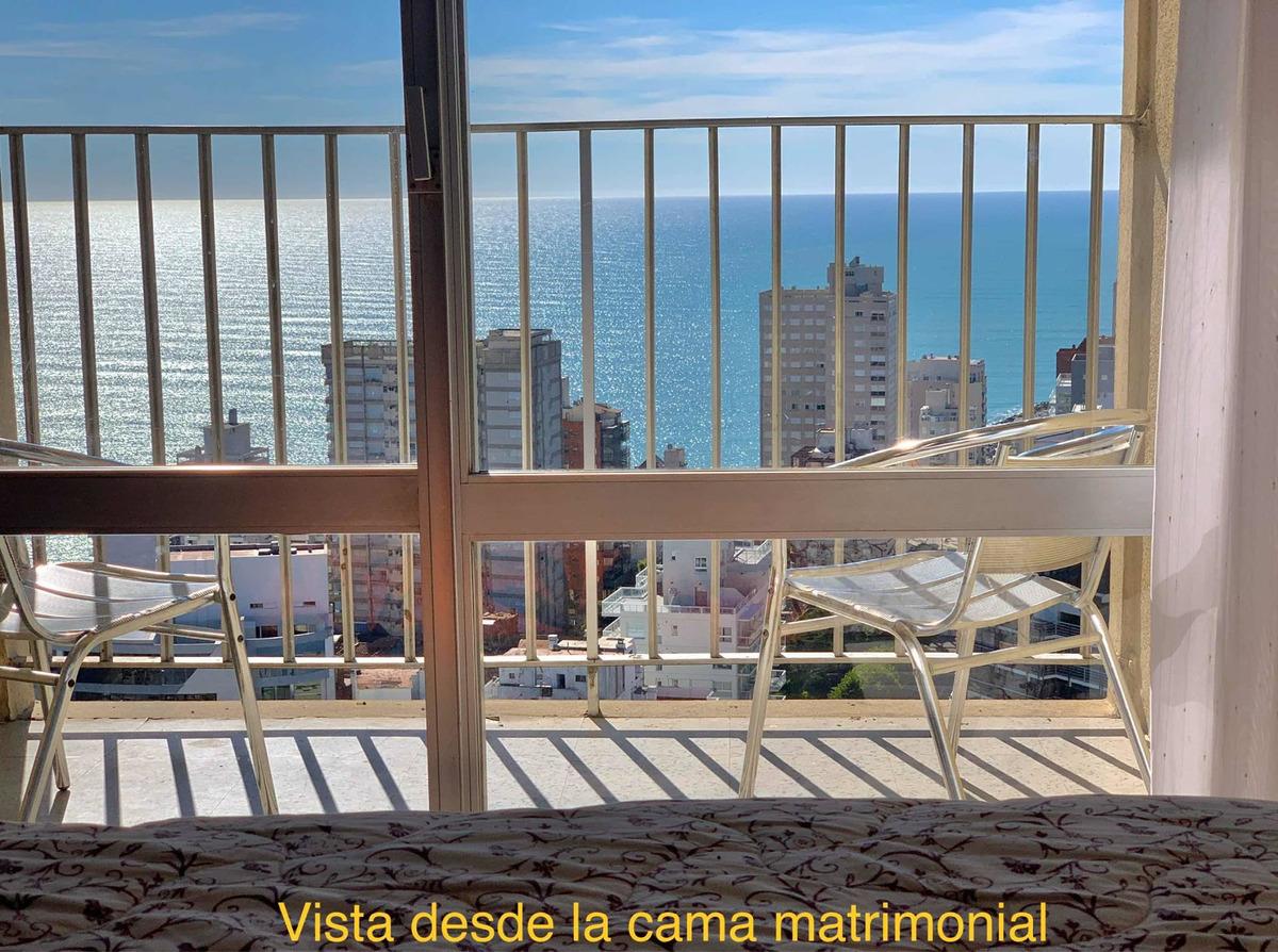 frente al mar. gran vista al mar. edificio havanna. piso 32