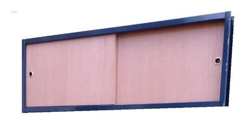 frente baulera corredizo cedro excelente calidad 120x50