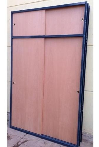 frente baulera corredizo cedro excelente calidad 150x50