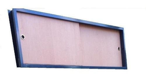 frente baulera corredizo cedro excelente calidad 200x50