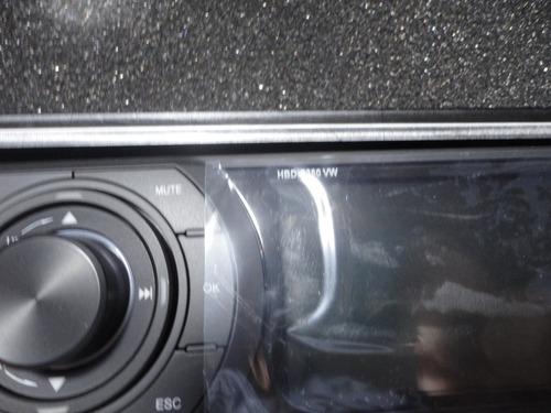 frente de dvd h-buster  hbd 9380 c/ estojo  original novo