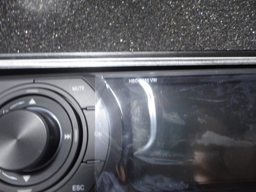 frente de dvd h-buster  hbd 9380vw c/ estojo  original novo