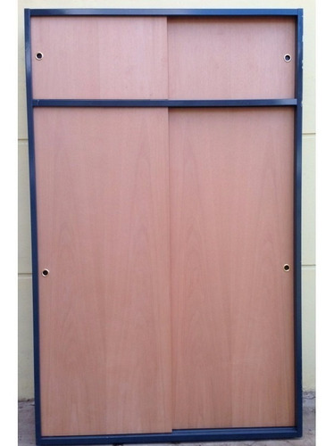 frente de placard 150x240 cedro c/baulera corredizo chapa 18
