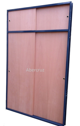 frente de placard corredizo cedro excelente calidad 200x240