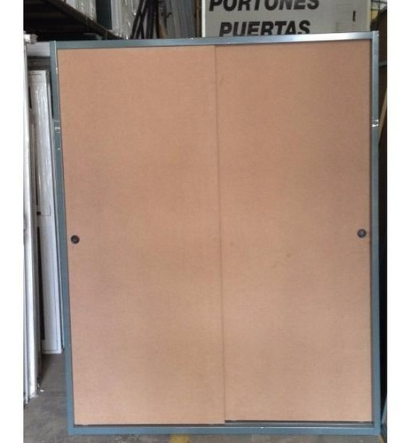 frente de placard corredizo mdf marco chapa durlock 150x190