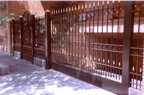 frente de reja cuadrado 9/16 con instalacion $16995