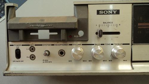 frente do aparelho de som sony hp-279 somente a frente