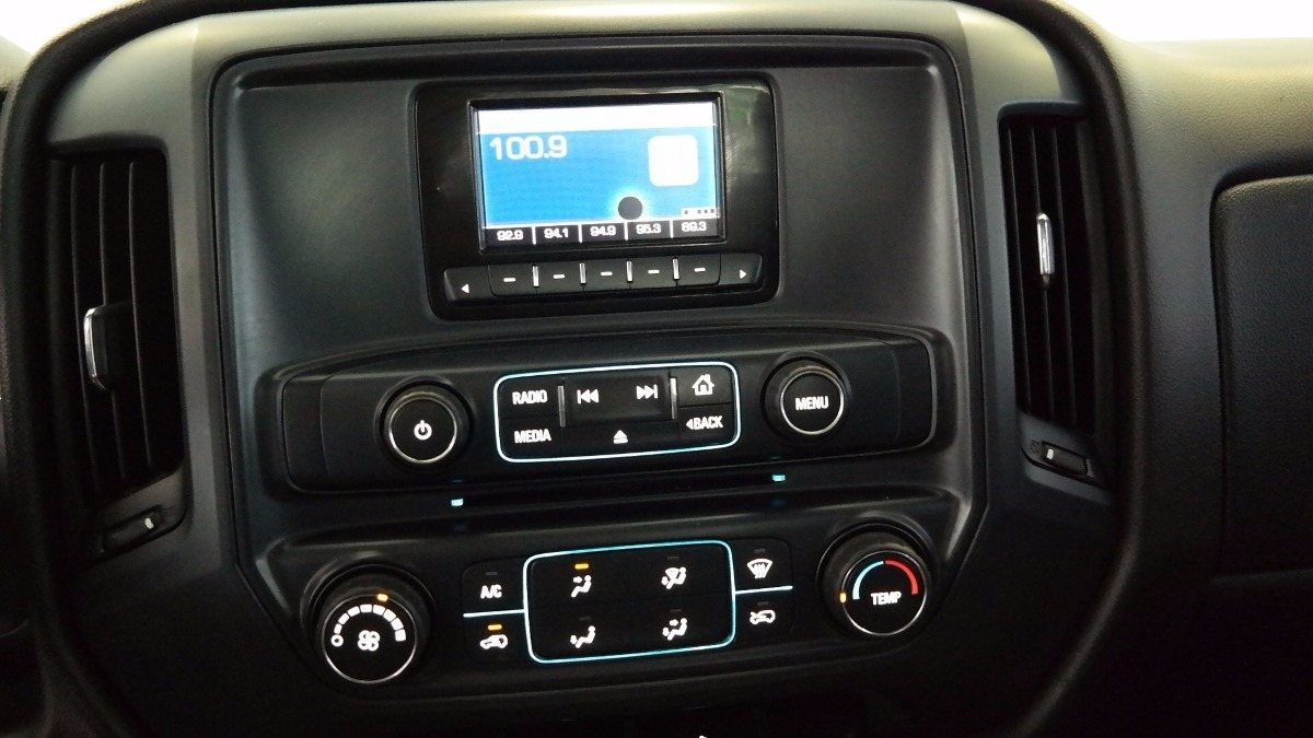 Frente Est 233 Reo 1 211 2din Chevrolet Silverado 1500 2014 A
