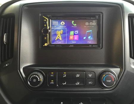 Frente Est 233 Reo 1 211 2din Chevrolet Silverado 3500 2015 A