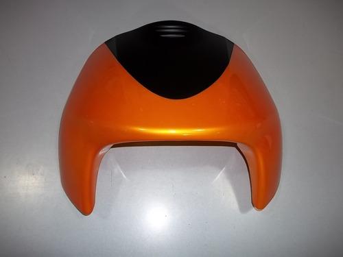 frente gilera smash 110 naranja con negro - dos ruedas motos