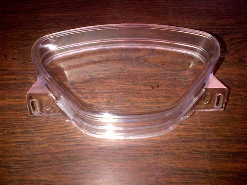 frente, optica y acrilico tablero motomel fusion 110 negro