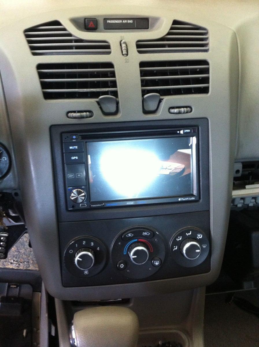 Frente Para Chevrolet Malibu 2004-2010 Doble Din - $ 350 ...