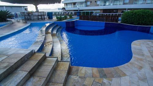 frente para mar e pé na areia, apartamento residencial à venda, vila mirim, praia grande - ap2376. - ap2376