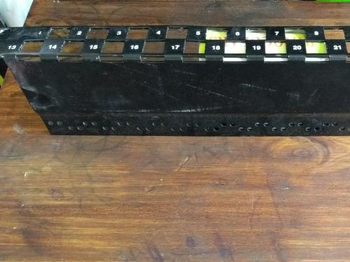 frente patch panel 24 bocas 3m
