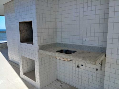 frente pro mar, 4 quartos, sacada gourmet, closet e hidro