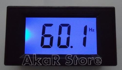 frequencímetro digital lcd 10-199.9hz ac medidor frequência