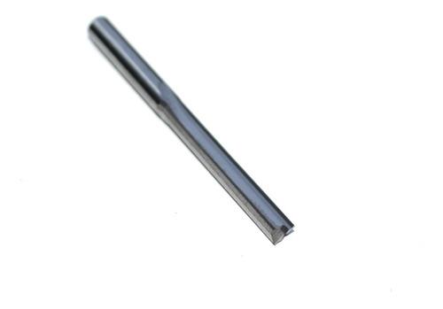 fresa 2 cortes retos 4x25mm perfeito para mdf / acm