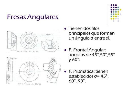fresa angulo frontal 55x14x16 *   45º  she