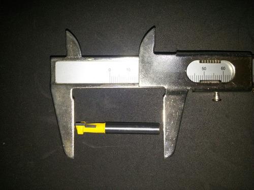 fresa de canaleta - slot t - tupia manual ou de bancada