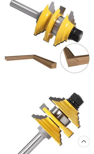 fresa fabricación marcos ventanas -puertas  8mm  ferretocigl