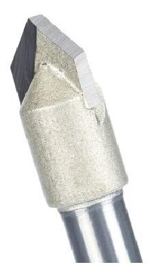 fresa gravadora v-bit 90 graus haste 6mm corte 5/16 ( 8mm )