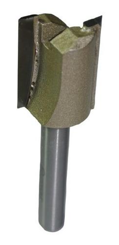 fresa para dobradiça 6mm x 1/2 ( 12,5mm)