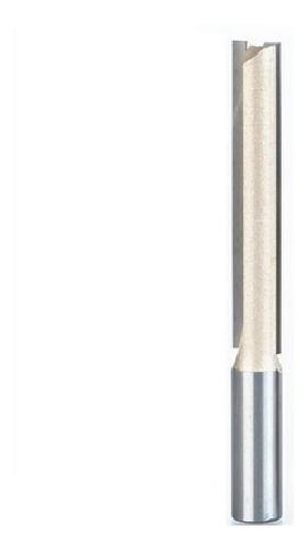 fresa para tupia reta longa 12mm x 76mm widea luthier