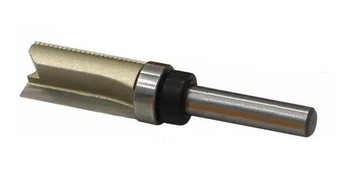 fresa paralela com rolamento superior  haste 6mm corte 1/2