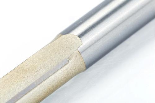fresa reta c/ rolamento 6mm x 1/4 p/ rebaixo / formica