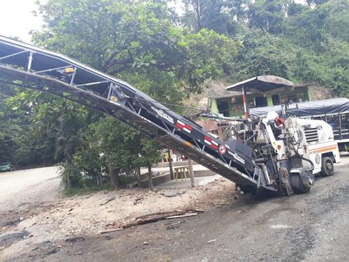 fresadora de asfalto