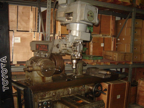 fresadora ferramenteira zema fva-1600 mesa 1600mm completa