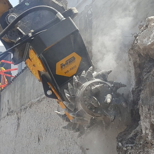 fresadora mb para excavadoras