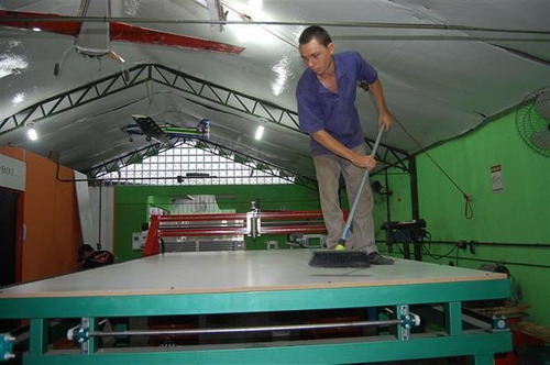 fresadora roter cnc de alta precisão