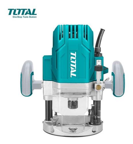 fresadora router 1600w total rebajadora tupi + varios collet