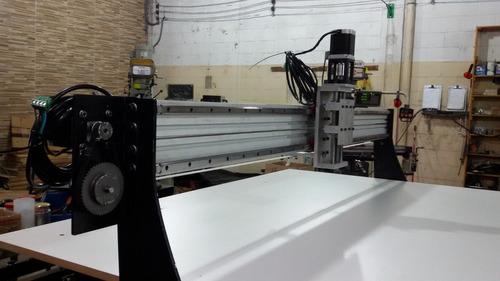 fresadora router cnc  area 1,6x1,3m c/ spindle frete grátis.