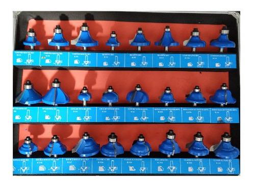 fresas para ruteadora de carpinteria x 24 unidades en oferta
