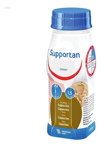 fresenius kabi supportan drink capuchino x 200 ml