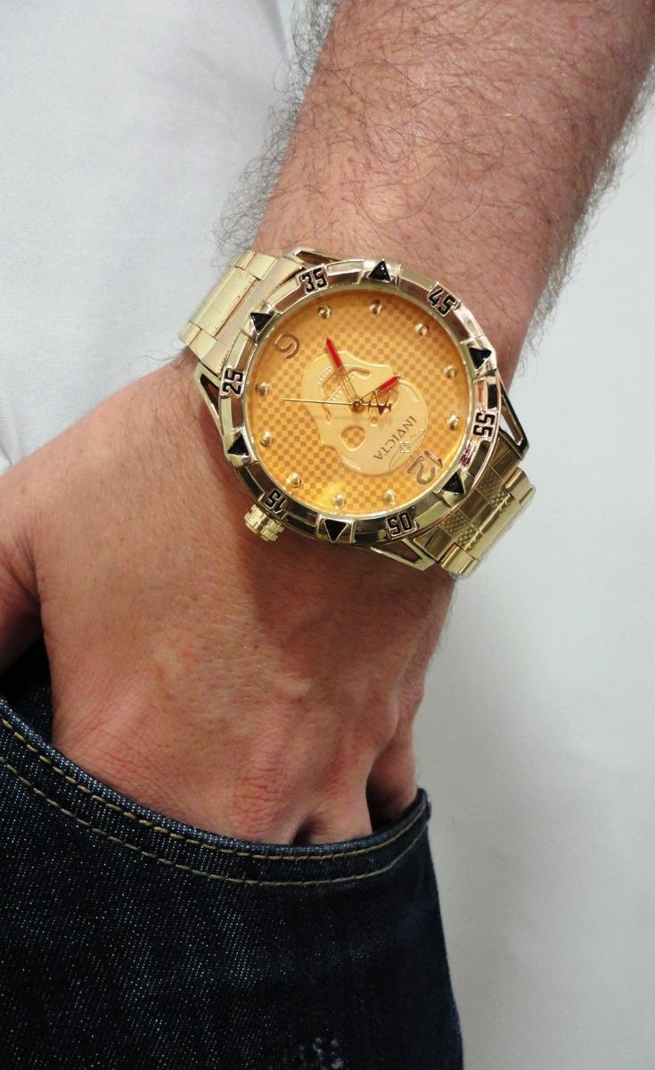 20b4d67096f frete gratis 10 relógio prata masculino grande barato pesado. Carregando  zoom.