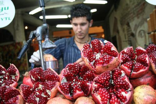 frete grátis + 10 sementes de romã gigante punica fruta