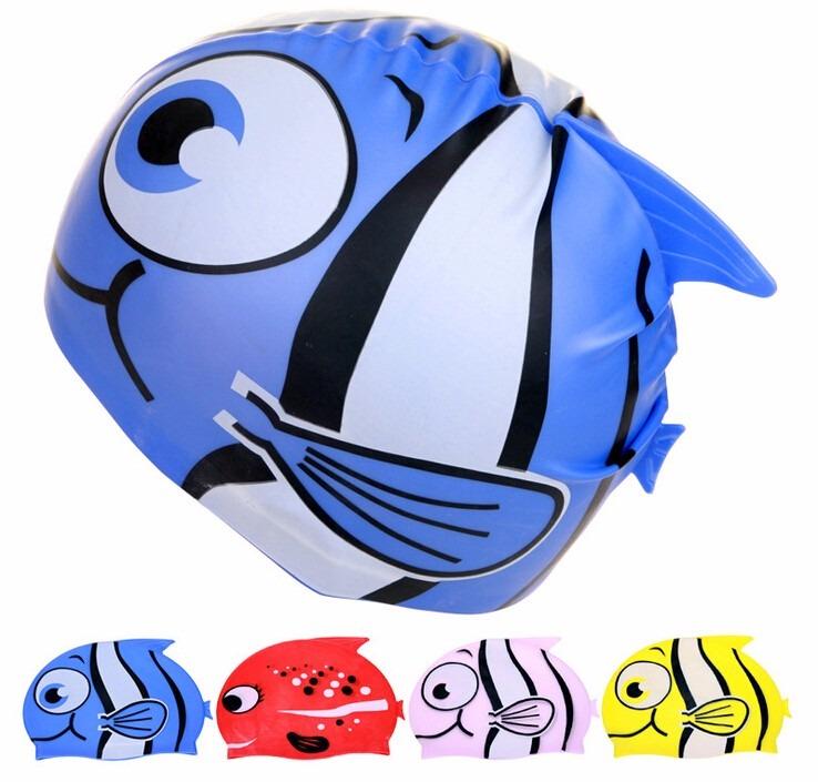 Frete Grátis 3 Toucas Natação Infantil Nadar Piscina Menino - R  120 ... 4eef906b420