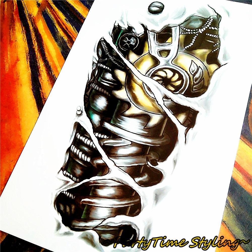 Frete Grátis 4 Tatuagens índia Nº 64 E 4 Robo Nº 25