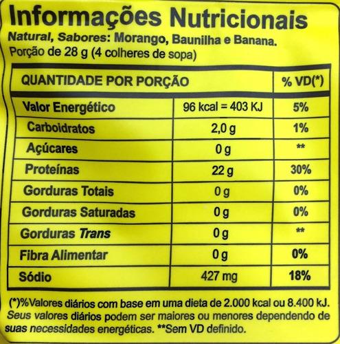 frete grátis 4x albumina 500g - naturovos (natural) + coq