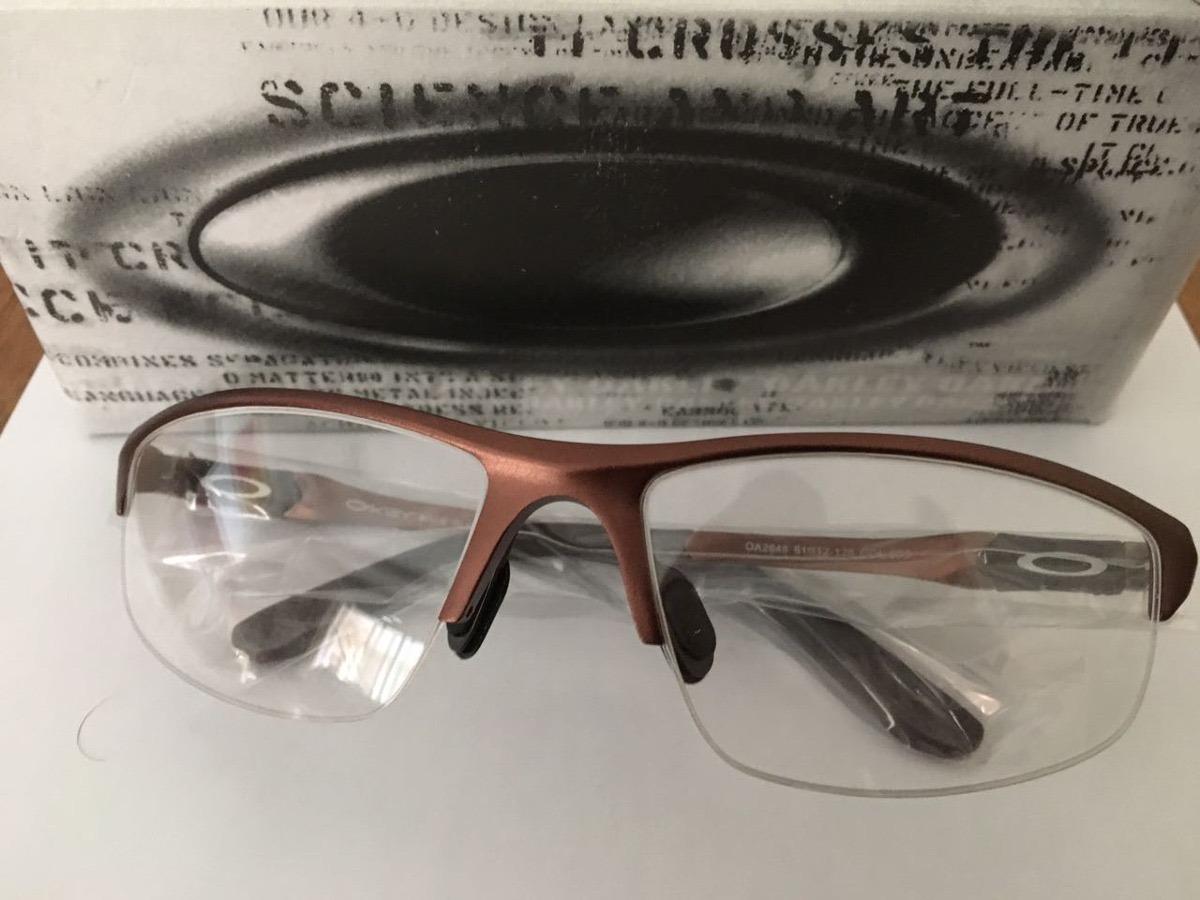 1b4ce830c frete gratis armação óculos alumínio esporte oa2848 grafite. Carregando zoom .